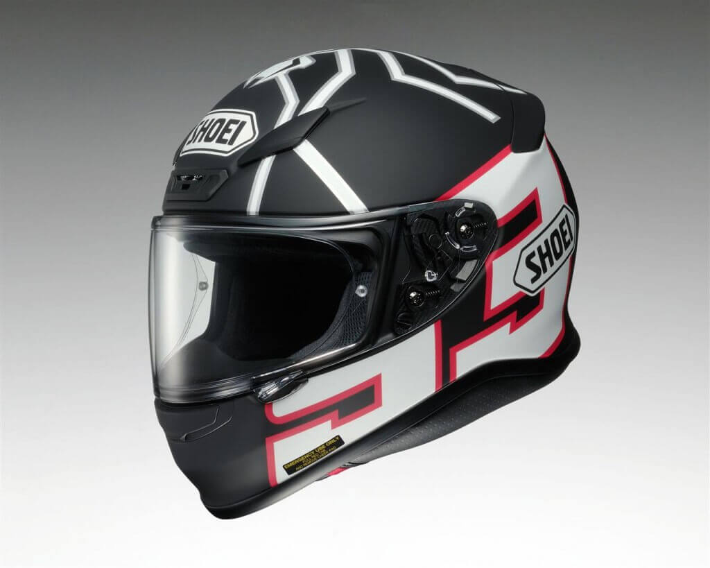Analisis casco de moto shoei nxr